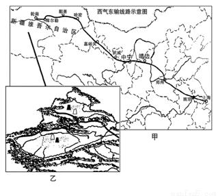 西气东输主要是将新疆塔里木盆地的天然气输往我国
