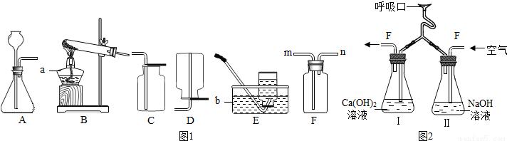 (1)如图1所示是实验室制取气体时常用的装置