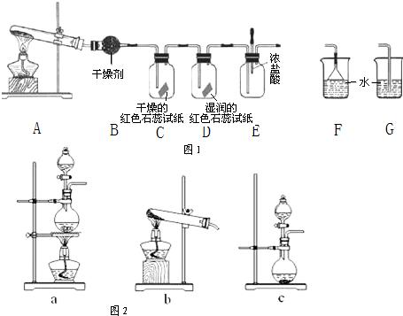 (1)a中的化学反应方程式是