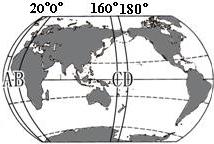 """南北半球和东西半球的划分知识点 """"东,西两半球划分的界线是____和图片"""