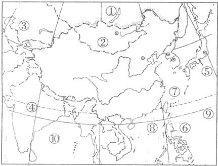 国防园手绘地图