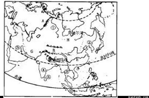 """读图""""中国地形图(局部)"""",完成 11~13题."""