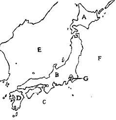 读日本和俄罗斯略图(如图),完成下列各题.(1)填