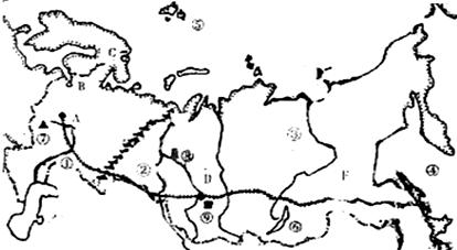 读俄罗斯地图回答