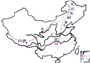 可以把我国的自然地理环境分成四大区域 北方地区 南方地区 西北地