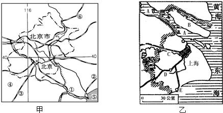 读我国北方地区图,写出图中代号所代表的地理事物名称 1 山脉 ① ② ③ ④ 2 矿产地 ⑤ 油田⑥ 煤矿⑦ 铁矿