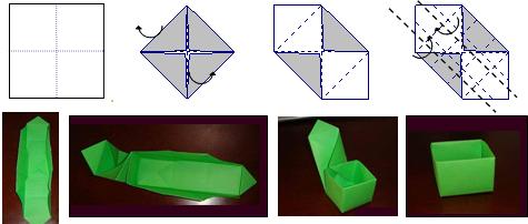 已知正方形纸片的边长为18,若将它按如图所示方法折成一个正方体纸盒
