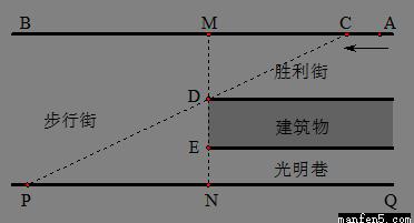 直线图纸分别为AB、PQ,并且AB∥PQ.建筑物所在dwg导入全不显示广联达图片