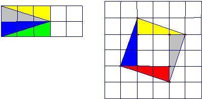 0个边长为1的正方形,排列形式如图1,请把它们分割后拼接成一个
