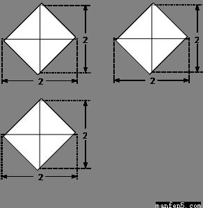 把边长为1的正方形abcd沿对角线bd折起形成三棱锥c-abd的主视图与俯