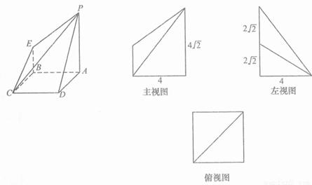 的正方形,ec⊥平面cdab,ef‖ca,点o是ac与bd的交点,ce=ef=1.