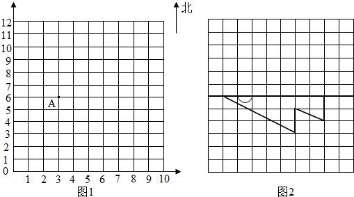 画图形. 1 在上面的点子图上画出一个平行四边形 顶点要在圆点上 ,然后用数对表示出这个平行四边形四个顶点的位置. 2 将所画的平行四边形向右平移2格,然后请你用数对表示出平移后平行四边形四个顶点的位置