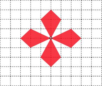 点评 本题是考查用平移,旋转,轴对称设计图案,根据图形的平移,旋转