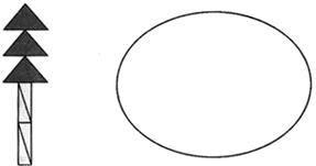 每行和每列的距离都是一样的,在钉子的顶点拉上橡皮筋,组成1个正方形图片