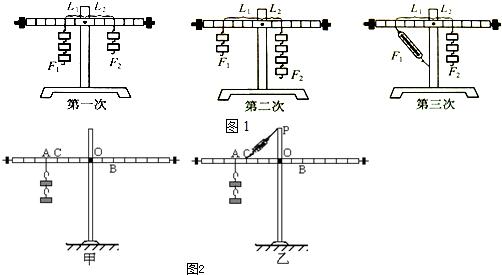 八年级下学期物理沪粤版习题  ; (2)杠杆调节平衡后,进行实验中,若