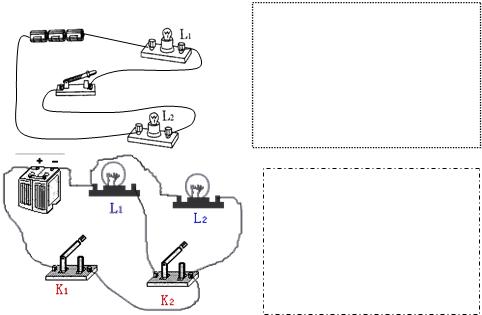 """根据实物图画电路图知识点 """"请根据图的电路实物图,在方框内画出相应"""