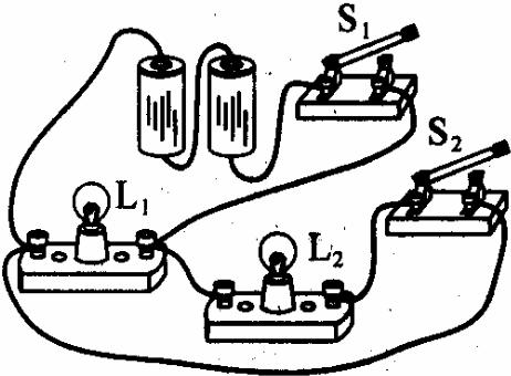 根据图的实物图,再画出对应的电路图