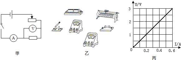 老师设计如图甲所示的实验电路图.