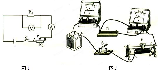 """""""在""""电阻上的电流跟两端电压的关系""""的实验.""""习题详情"""