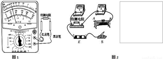 某同学想用电流表,电压表测量一段电阻丝rx