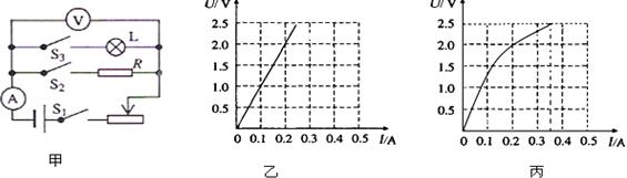 """电功率知识点 """"某实验小组利用图甲所示电路进行如下的实验."""