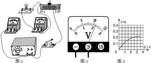 在实验中连接好电路,闭合开关,移动变阻器滑片p,发现小灯泡始终不亮