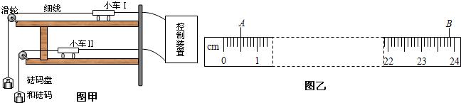 小车的加速度可由小车后拖动的纸带由打点计数器打上的点计算出