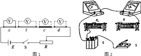 ②探究中需要测量滑动变阻器r