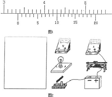 设电流表为理想电流表,电压表的内阻为10000Ω),要求测量小灯泡正常