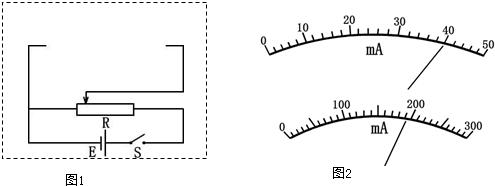 试将方框中测量电阻rx的实验电路原理图补充完整(原理图中的元件用题