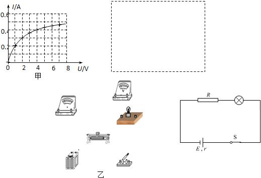 电源的电动势为8.0v,内阻为1.0Ω.现测得电路中的电流为0.