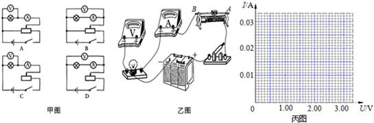 经过分析,习题某实验小组要描绘一个标有3.8V,1W的小电珠RL的I-U曲线,所供选择的器材除了导线和开关外,还有以下一些器材可供选择:A.电压表V(量程5V,内阻约为5k)B.直流电源E(电动势4.5V,内阻不计)C.电流表A1(量程150mA,内阻约为2)D.电流表A2(量程300mA,内阻约为1)E.滑动变阻器R1(阻值0~10)F.滑动变阻器R2(阻值0~2k)(1)实验中为较准确测量、方便调节,电流表应选用____,滑动变阻器应选用____(填器材前面的选项字母);(2)要求实验中