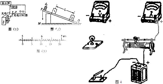"""(1)某同学进行""""描绘小灯泡的伏安特性曲线""""的实验,现备有下列器材"""