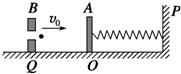 如图所示,在光滑水平面上不计a,b两质量,其中b物体放置带有弹簧的物体济宁小北湖滑雪场图片图片
