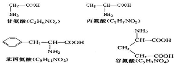 (3),(16分)下列是某化合物的结构简图,据图回答:&
