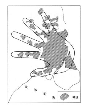 """""""手指规划""""示意图中""""手指""""之间的区域应该规划为-动漫产业是指"""