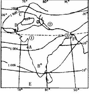 图为南美洲 局部 年平均气温分布状况 回答下列各题1.R的气候特点是,终年A.高温多雨 B.低温多雨 C.高温少雨 D.低温少雨2.R S的气温不同,主要影响因素是A.海陆分布图片