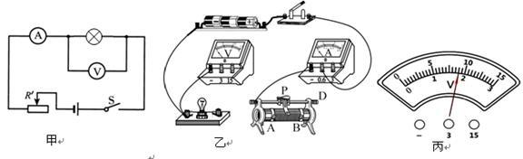 """""""习题详情  小东同学利用如图甲所示的电路图,测量了小灯泡的电阻和电"""