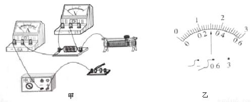 (6分)某同学利用如图的电路来测量一未知电阻r