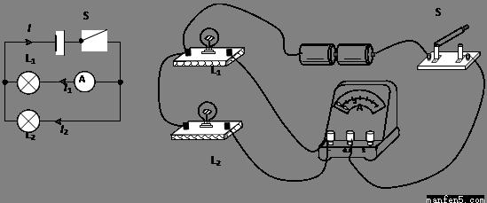 经过分析,习题下列是某实验中的三个电路图,请仔细观察后回答.(1) 该实验探究的问题是____;(2) 你的结论是____;(3)小明同学探究出的结论是:在并联电路中,干路电流大于任何一条支路的电流。小宁的结论是:在并联电路中,干路电流等于各支路电流之和。请你评估一下,谁得出的结论更加确切?