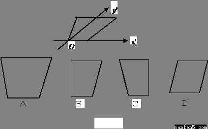 如图,网格纸的小正方形的边长是1,在其上用粗线画,出了某多面体的三