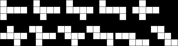 一个正方体纸盒可以展开成一个平面图形